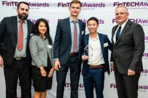 Evan Wong and Scott Morrison Regtech Awards
