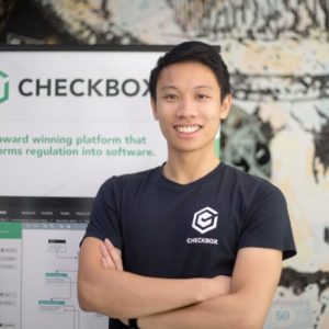 Evan Wong CEO of Checkbox.ai