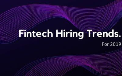 Fintech Hiring Market Update