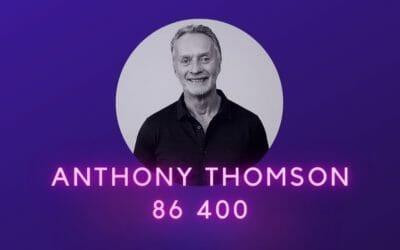 Ep 25: Anthony Thomson, 86 400