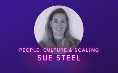People, Culture & Scaling, Sue Steel