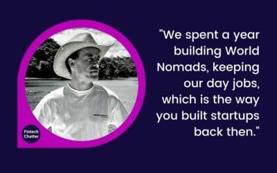 World Nomads Simon Monk on Fintech Chatter Podcast