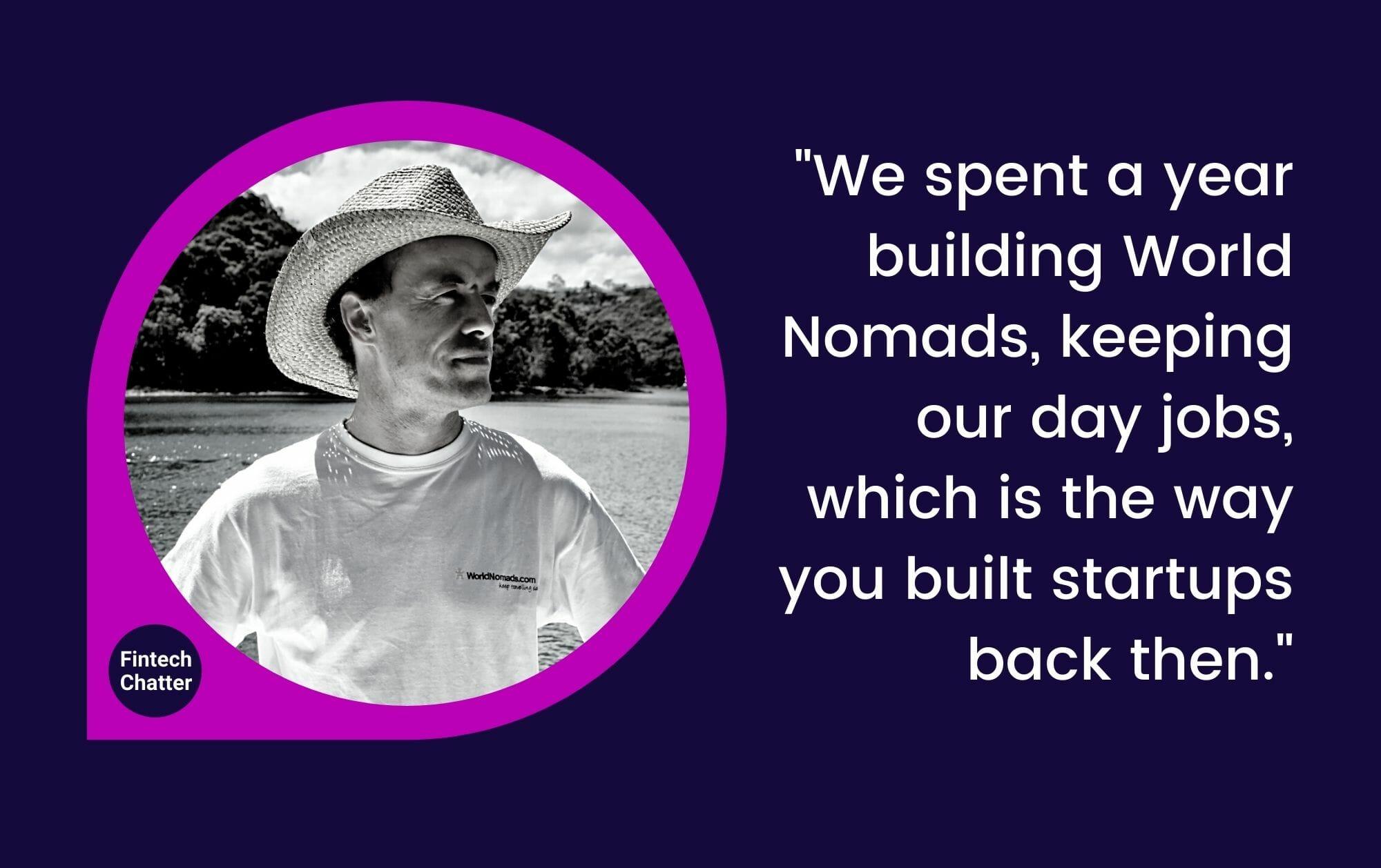 World Nomads Simon Monk Fintech Chatter Podcast